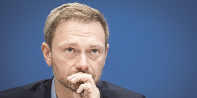 BERLIN, GERMANY - OCTOBER 27: Christian Lindner, leader of the liberal party Free Democratic Party of Germany (FDP), is pictured during a press conference on October 27, 2016 in Berlin, Germany. (Photo by Florian Gaertner/Photothek via Getty Images)