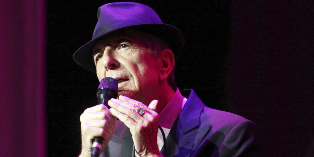 """CORRECTS DATE OF STATEMENT- In this March 22, 2013 file photo, Leonard Cohen performs on the Old Ideas World Tour, at The Fabulous Fox Theatre in Atlanta. Cohen, the gravelly-voiced Canadian singer-songwriter of hits like """"Hallelujah,"""" """"Suzanne"""" and """"Bird on a Wire,"""" has died, his management said in a statement Thursday, Nov. 10, 2016.  He was 82. (Photo by Robb D. Cohen/RobbsPhotos/Invision/AP, File)"""