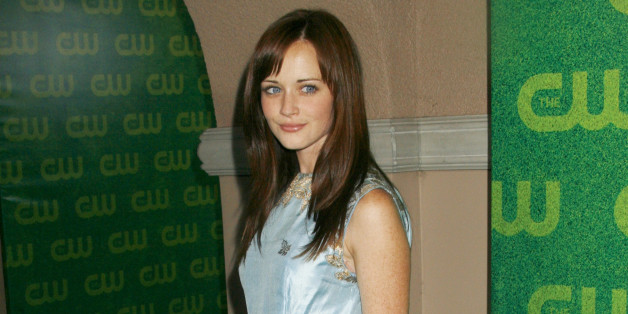 Actress Alexis Bledel, star of The CW network's program 'Gilmore Girls', arrives at the CW network party during the Television Critics Association press tour in Pasadena, California July 17, 2006. REUTERS/Fred Prouser