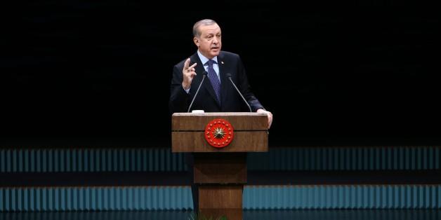Der türksiche Präsident Recep Tayyip Erdogan