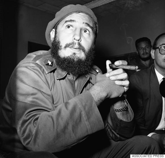 fidel castro cigar