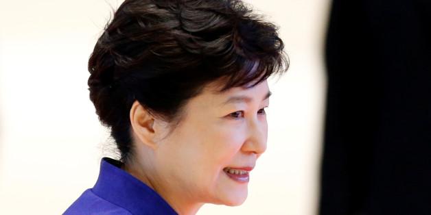 South Korea's President Park Geun-hye arrives at the ASEAN Summit in Vientiane, Laos September 7, 2016.  REUTERS/Soe Zeya Tun