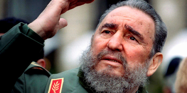 Cuba's President Fidel Castro gestures during a tour of Paris in this March 15, 1995 file photo. Ailing Cuban leader Castro said on February 19, 2008 that he will not return to lead the country, retiring as head of state 49 years after he seized power in an armed revolution.  REUTERS/Charles Platiau/Files    TPX IMAGES OF THE DAY
