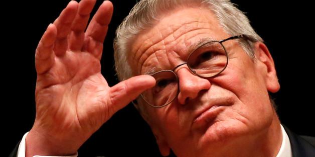 """Gauck für Pause beim Zusammenwachsen der EU: """"Nicht jeder fühlt sich als Weltbürger"""""""