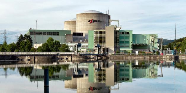 Das Atomkraftwerk Beznau in der Schweiz