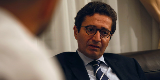 Tunisia's Investment Minister Fadhel Abdelkefi speaks with Reuters journalists in Tunis, Tunisia, October 24, 2016. Picture taken October 24, 2016. REUTERS/Zoubeir Souissi