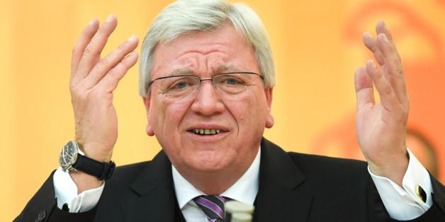 Volker Bouffier kann sich Schwarz-Grün auf Bundesebene vorstellen
