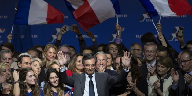 François Fillon bei einer Wahlveranstaltung am 25 November 2016