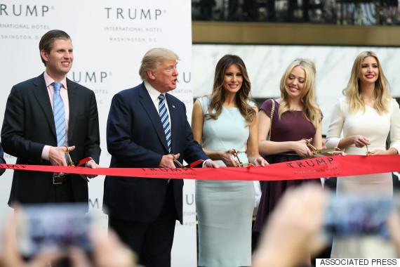 donald trump ceremony