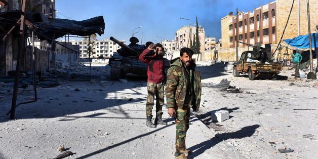 Die Regime-Anhänger haben den Nordosten Aleppos eingenommen