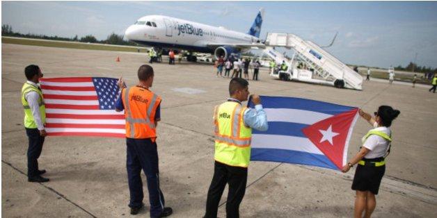 Trois jours après la mort de Fidel Castro, les premiers vols entre les États-Unis et La Havane décollent