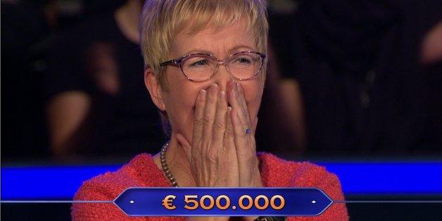 Jutta Tegeler-Mehl steht bei Günther Jauch heute vor der Million-Euro-Frage