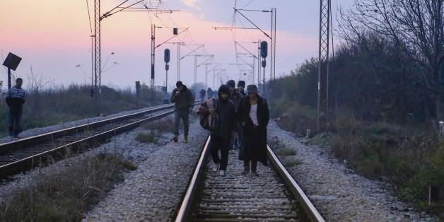 Eine Mehrheit der Deutschen will die Grenzen nicht vor Flüchtlingen verschließen