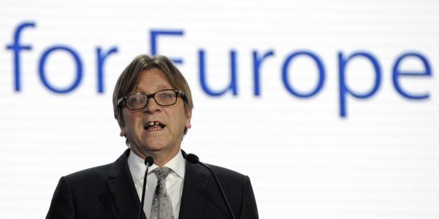 Guy Verhofstadt wünscht sich mehr Zusammenhalt in der Europäischen Union