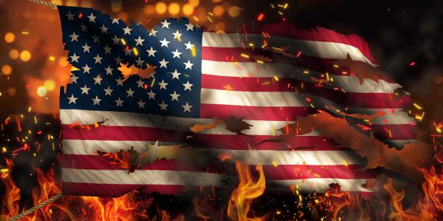 Donald Trump veut mettre en prison ceux qui brûlent le drapeau américain