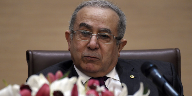 Algerian Foreign Minister, Ramtane Lamamra, and former French prime minister and candidate for the French presidency in 2017, Alain Juppe (unseen), hold a conference attended by students on February 2, 2016, in the capital Algiers.The conference was attended by students from the Diplomatic Institute and International Relations (IDRI) and the School of Administration (ESA). / AFP / Farouk Batiche        (Photo credit should read FAROUK BATICHE/AFP/Getty Images)
