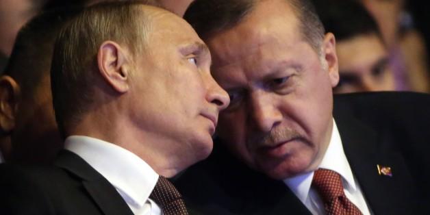 Drohen neue Spannungen? Putin und Erdogan im Dialog