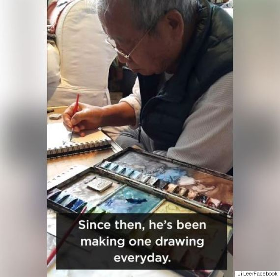 grandfather drawings