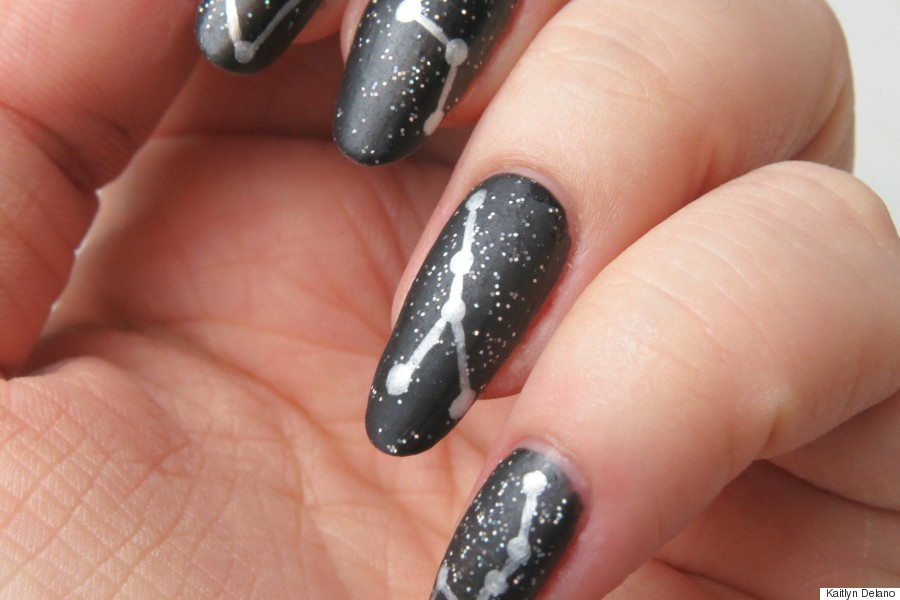 constellation manicure