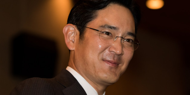 Billionaire Lee Jae Yong, vice chairman of Samsung Electronics Co., attends the Samsung Foundation's 2015 Ho-Am Prize ceremony in Seoul, South Korea, on Monday, June 1, 2015. In a deal announced last Tuesday, Cheil Industries Inc., Samsung Group's de facto holding company, will buy out construction affiliate Samsung C&T Corp. for about $9.2 billion in stock. The genius of the deal: Aside from generating about $25 billion in revenue, C&T holds more than $12 billion in other companies' shares, inc