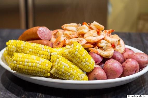 easy one pot shrimp boil garden matter
