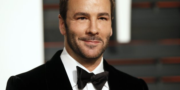 Designer Tom Ford arrives at the 2015 Vanity Fair Oscar Party in Beverly Hills, California February 22, 2015. REUTERS/Danny Moloshok (UNITED STATES - Tags:ENTERTAINMENT) (VANITYFAIR-ARRIVALS)