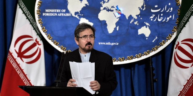 TEHRAN, IRAN - AUGUST 22: Iran's Foreign Ministry Spokesman Bahram Ghasemi delivers a speech during a press conference at Foreign Ministry building in Tehran, Iran on August 22, 2016. (Photo by Fatemeh Bahrami/Anadolu Agency/Getty Images)