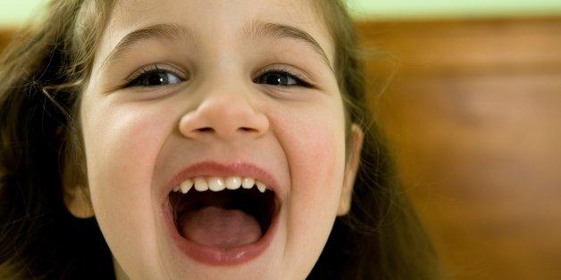 Die fünfjährige Annalise lachte über den Namen ihrer Lehrerin