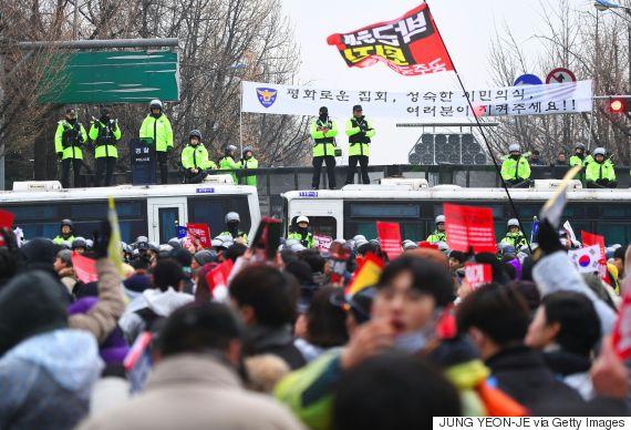 park geun hye police