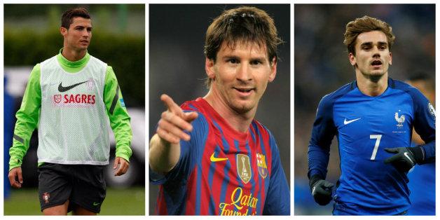 Ronaldo, Messi et Griezmann en lice pour le titre de meilleur joueur FIFA 2016