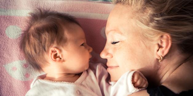 Diese erstaunliche Veränderung passiert im Gehirn einer Frau, wenn sie ein Kind auf die Welt bringt.