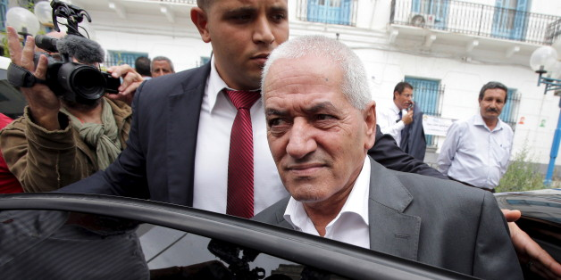 Hussein Abassi, head of the Tunisian General Labour Union (UGTT), leaves his office in Tunis Tunisia, October 9, 2015. Tunisia's National Dialogue Quartet won the Nobel Peace Prize on Friday for helping build democracy in the birthplace of the Arab Spring, an example of peaceful transition in a region otherwise struggling with violence and upheaval. The quartet of UGTT, the Tunisian Confederation of Industry, Trade and Handicrafts (UTICA), the Tunisian Human Rights League (LTDH), and the Tunisian Order of Lawyers was formed in the summer of 2013. REUTERS/Stringer