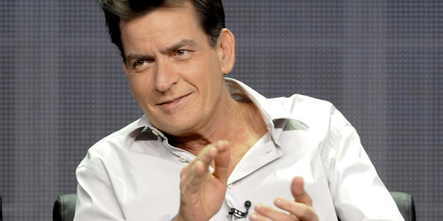 "Actor Charlie Sheen from the FX show ""Anger Management"" takes part in a panel discussion at the FX Networks session of the 2012 Television Critics Association Summer Press Tour in Beverly Hills, California, July 28, 2012. REUTERS/Gus Ruelas (UNITED STATES - Tags: ENTERTAINMENT)"