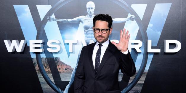 """J.J. Abrams, producteur exécutif de la série """"Westworld"""", lors de l'avant-première à Hollywood, Californie, 28 septembre 2016"""
