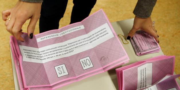 Aufregung in italienischen Wahllokalen: Rechtspopulisten wittern Mainipulation