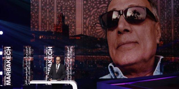 Ahmad Kiarostami, fils du réalisateur Abbas Kiarostami, décédé en juillet dernier, rend hommage à son père au FIFM, Marrakech, 3 décembre 2016