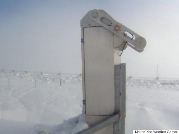hawaii snow webcam