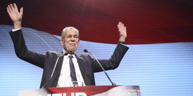 Alexander Van der Bellen wird nächster Bundespräsident in Österreich