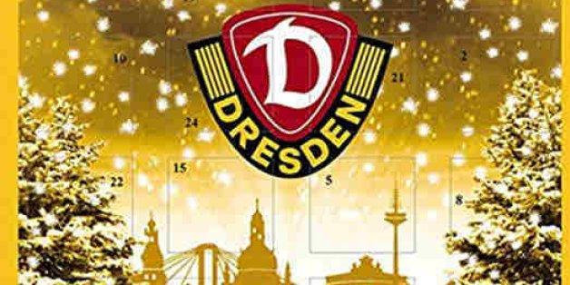 Die Fans von Dynamo Dresden müssen angesichts ihres neuen Fan-Adventskalenders jetzt ganz stark sein