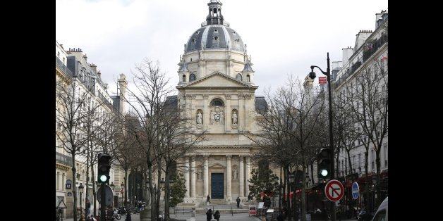 General view of the Sorbonne University in Paris, France, February 15, 2016. REUTERS/Charles Platiau