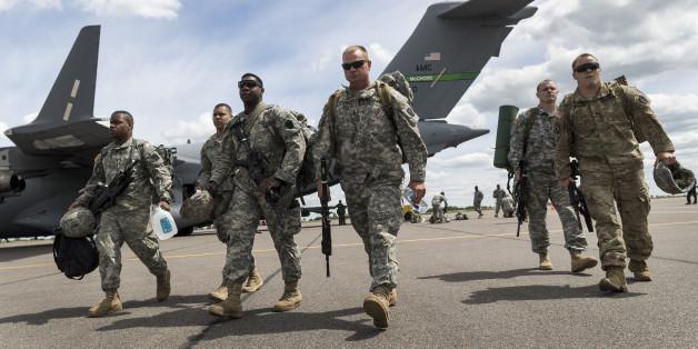 Bei einem Nato-Manöver
