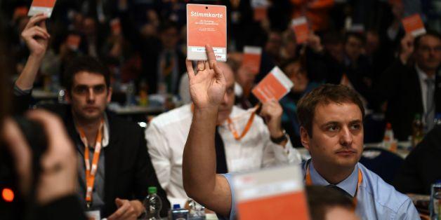 Mitglieder auf dem CDU-Parteitag in Essen