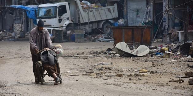 Aleppo steht vor dem Fall