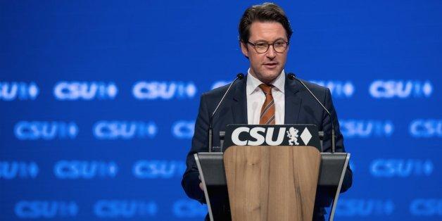 CSU-Generalsekretär Andreas Scheuer