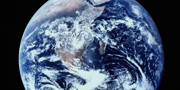 EARTH FROM SPACE SHOWING AFRICA AND ARABIAN PENINSULA