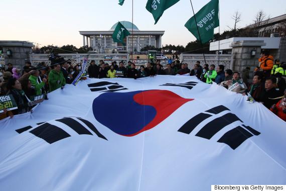 park geun hye impeachment