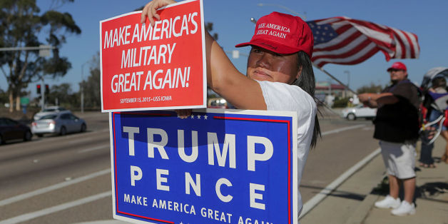 Trump-Wählerin in den USA