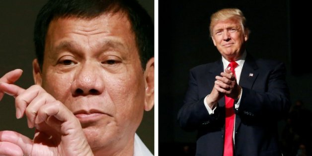 Trump telefonierte mit dem philippinischen Präsidenten - was der danach sagte, sollte uns allen Angst machen