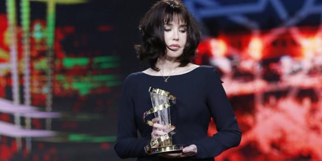 Isabelle Adjani très émue pendant son hommage au Festival de Marrakech
