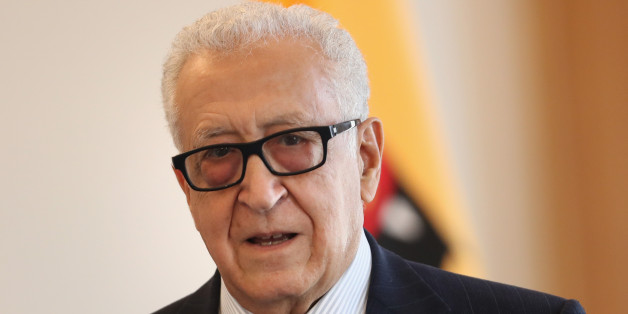 BERLIN, GERMANY - SEPTEMBER 13:  Former Algerian U.N. diplomat Lakhdar Brahimi arrives to meet with German President Joachim Gauck at Schloss Bellevue palace on September 13, 2016 in Berlin, Germany. Brahimi is a member of 'The Elders,' an international group of mostly elderly former diplomats, human rights activists and peace proponents founded in 2007 by Nelson Mandela.  (Photo by Sean Gallup/Getty Images)